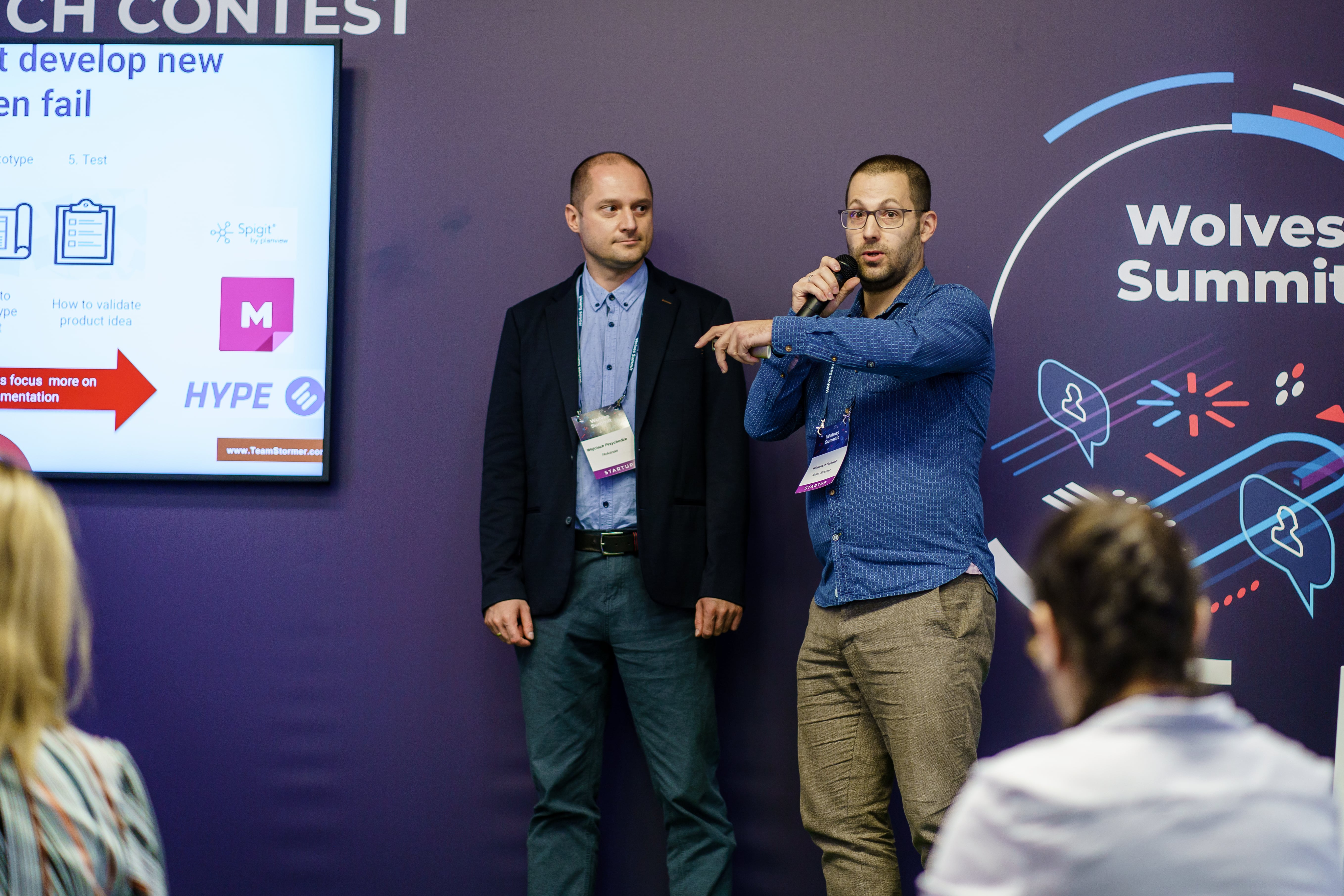 Wolves Summit Great Pitch Contest
